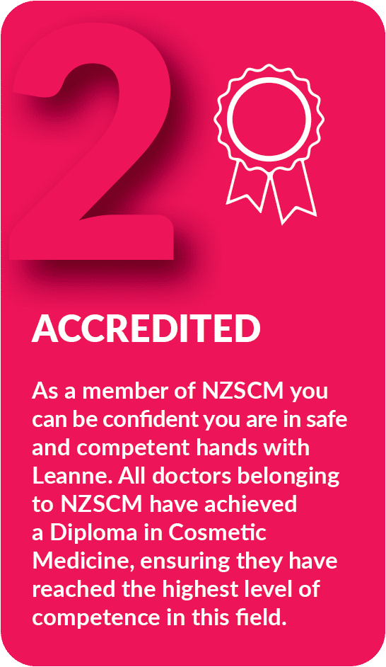 Reason Two - Accredited